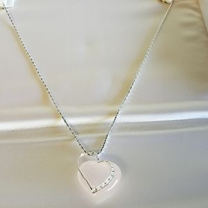 Kay Jeweler's Pink Heart Shaped Necklace